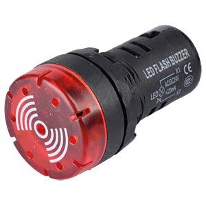 LED-Signallampen, 24V, srew, 21,5mm, rot RND COMPONENTS RND 210-00060
