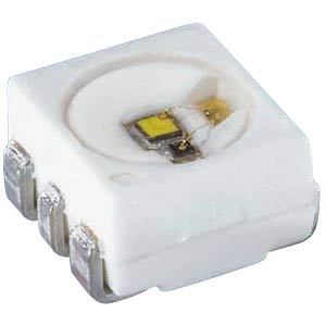 LED, SMD 3532, PLCC6, 2800 mcd, yellow OSRAM OPTO LY G6SP-BBDB-36-1