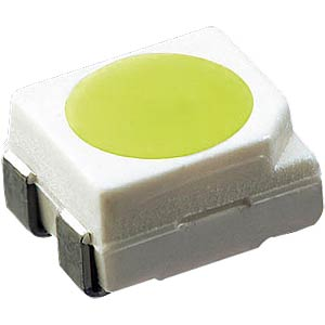 LED, SMD 3430, PLCC4, 1120 mcd, yellow OSRAM OPTO LY E67F-AABA-35-1