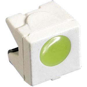 LED, SMD 4242, side, 45 mcd, light green OSRAM OPTO LG A676-P1Q2-24-Z