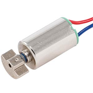 Vibration motor, 3V, 150mA, 10,000rpm EKULIT VM-0610A3.0