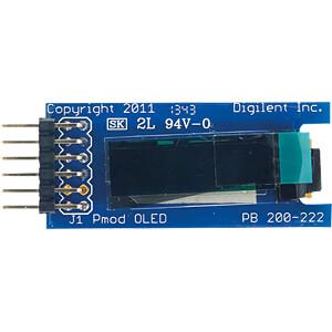 DIGIL 410-222 - Pmod OLED: 128 x 32 Pixel monochromatischer OLED-Bildschirm
