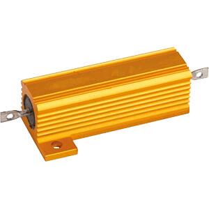 Resistor, axial, 50 W, 0.47 Ohm, 5% RND COMPONENTS RND 15550 R47 J