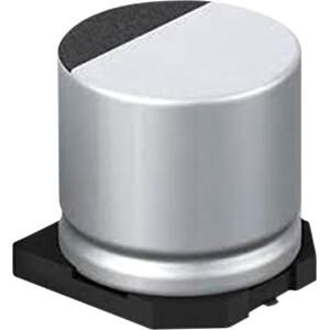 SMD-Elco radiaal, 47 µF, 6,3 V, 105°C, 1000 h, 20% PANASONIC EEEHA0J470WR