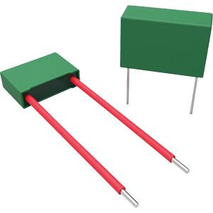 Funkentstörkondensator, Y2, 56 nF, 300 V, RM 15,0, 100°C, 10% RND COMPONENTS RND 150Y563K300L150C6-1