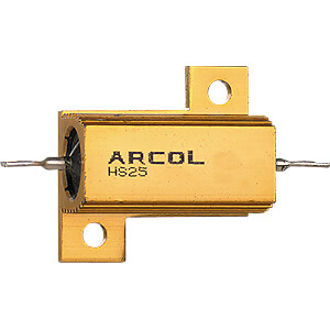 Drahtwiderstand, axial, 25 W, 3,3 kOhm, 5% ARCOL HS25 3K3 J