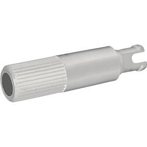 PIH 5214 WHITE - Steckachse für Trimmer PT 15