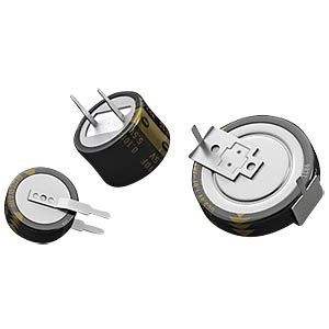 Speicherkondensator, 220 mF, 5,5 V, 1000 h PANASONIC EECF5R5U224