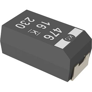 SMD-Tantal, 33µF, 6,3V, 105°C KEMET T520A336M006ATE070