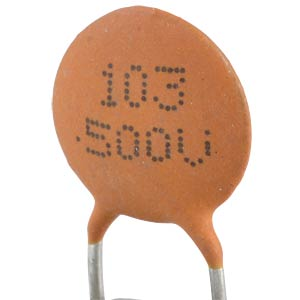 Ceramic capacitor, 500V, 1.8P FREI