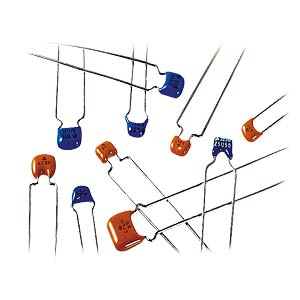 Multi-layer ceramic capacitor 100N, 10% MURATA RDER71H104K0S1H03A