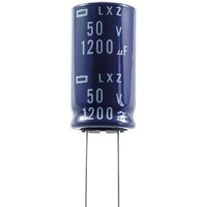 ELKO, 1200 µF, 10 V, 105 °C EUROPE CHEMI-CON ELXZ100ETD122MJ20S