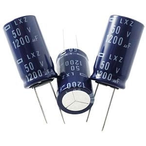 ELKO, 12 µF, 63 V, 105 °C EUROPE CHEMI-CON ELXZ630ETD120MEB5D