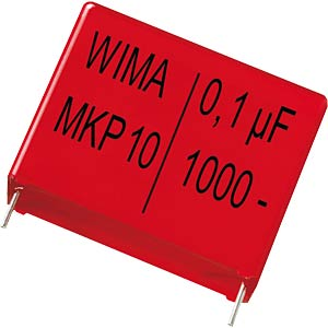 Pulse capacitor, 470nF, 250V, RM22.5 WIMA MKP1F034705D00JSSD