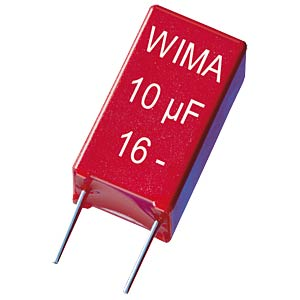 WIMA film capacitor, Rm 5 mm, 10 nF WIMA MKS2C021001A00JSSD