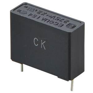 Noise capacitor, X2, 275VAC / 10%, 0.15µF PANASONIC ECQUAAF154KA