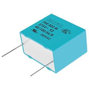 Funkentstörkondensator, X2, 47 nF, 300 V, RM 15,0, 100°C, 20% KEMET PHE820EB5470MR17