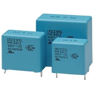 Funkentstörkondensator, X2, 10 nF, 275 V, RM 7,5, 105°C, 20% KEMET PHE840MK5100MK01R17