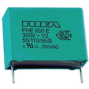 Funkentstörkondensator, Y2, 22 nF, 300 V, RM 15,0, 110°C, 20% KEMET PHE850EB5220MB06R17