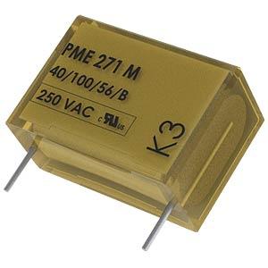 Funkentstörkondensator, Y2, 10 nF, 250 V, RM 15,0, 115°C, 20% KEMET PME271Y510MR30