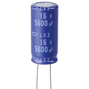ELKO, 5600 µF, 16 V, 105 °C EUROPE CHEMI-CON ELXZ160ELL562ML35S