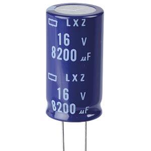 ELKO, 8200 µF, 16 V, 105 °C EUROPE CHEMI-CON ELXZ160ELL822MM35S