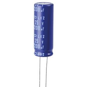 ELKO, 2200 µF, 25 V, 105 °C EUROPE CHEMI-CON ELXZ250ELL222MK35S