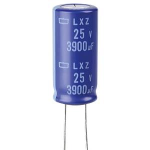 ELKO, 3900 µF, 25 V, 105 °C EUROPE CHEMI-CON ELXZ250ELL392ML35S