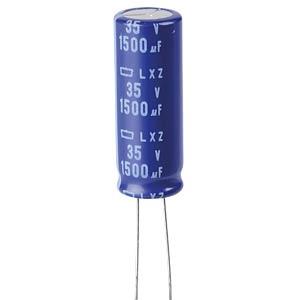 ELKO, 1500 µF, 35 V, 105 °C EUROPE CHEMI-CON ELXZ350ELL152MK35S