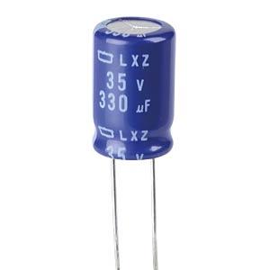 ELKO, 330 µF, 35 V, 105 °C EUROPE CHEMI-CON ELXZ350ETD331MJ16S