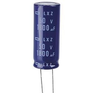 ELKO, 1800 µF, 50 V, 105 °C EUROPE CHEMI-CON ELXZ500ELL182ML40S