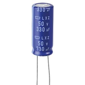 ELKO, 330 µF, 50 V, 105 °C EUROPE CHEMI-CON ELXZ500ETD331MJ25S