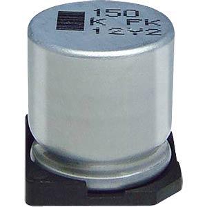 Elko SMD, 1,0 uF, 50 V, 1000 h, low ESR PANASONIC EEEFC1H1R0R