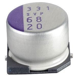 SMD-Polymer-Aluminium, low ESR, 68µ, 20V PANASONIC 20SVP68M