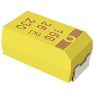 SMD-Tantal, 10µF, 20V, 125°C KEMET T494C106M020AT