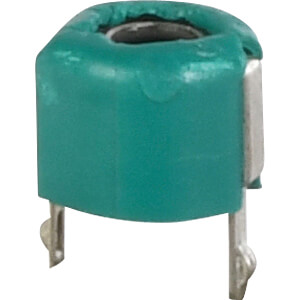 Trimmer capacitor 6.2 - 30 pF, green SUNTAN TSC(S,R)06-300