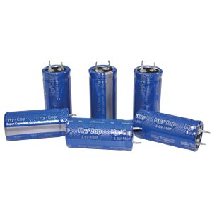 Superkondensator, 100F, 3V, 22x45mm VINATECH VEC3R0107QG
