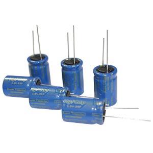 Superkondensator, 10F, 3V, 10x30mm VINATECH VEC3R0106QG