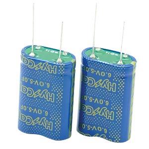 Superkondensator, 2,5F, 6V, 10,5x21x22,5mm VINATECH VEC6R0255QGI