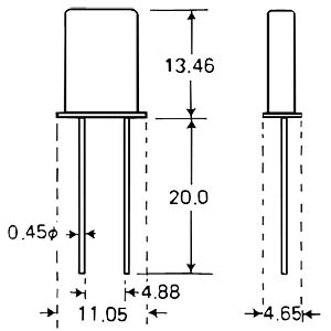 Standardquarz, Grundton,   8,000000 MHz FREI