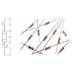 Widerstand, Kohleschicht, 2,7 MOhm, 0207, 250 mW, 5% YAGEO CFR-25JT-52-2M7