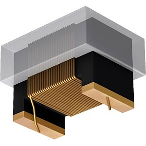 Chip-Induktivität, 1812AF, 10 µH FASTRON 1812AF-100K