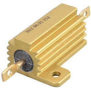 25-watt wirewound resistor, series RH025, 1.0kOhm VISHAY RH0251K000FE05