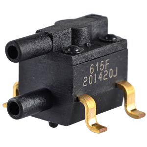 Differential pressure sensor, SMD, relative, ± 15 psi HONEYWELL 26PC15SMT