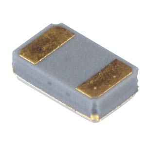 Quartz oscillator, ceramic housing, 1.5 x 2.0 x 0.6 mm, 9 pF MICRO CRYSTAL CX8V-T1A 32.768KHZ +-20PPM 9PF