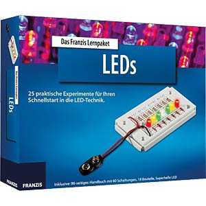 Lernpaket: LEDs FRANZIS-VERLAG 978-3-645-65065-6