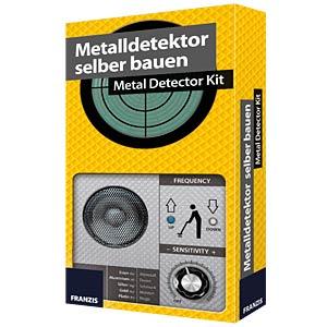 Build-your-own metal detector kit FRANZIS-VERLAG 978-3-645-65241-4