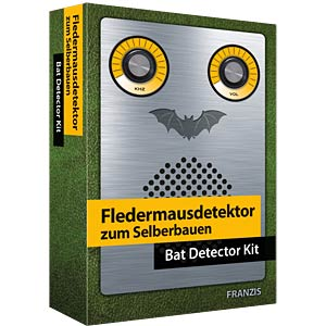 Assembly kit: bat detector FRANZIS-VERLAG 978-3-645-65276-6