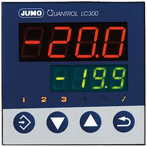 Quantrol LC300, analogue, 240 V AC JUMO 00601600