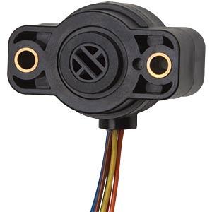Winkelsensor, 0 ... 360°, 5 V DC VARIOHM 9960-360-NS-5C-DL450